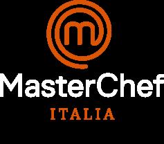 Masterchef Italia - Grembiule Ufficiale Unisex Bianco RICAMATO CON NOME