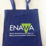 Art. 75001 - Stampa a 2 colori su Shopper Blu Navy