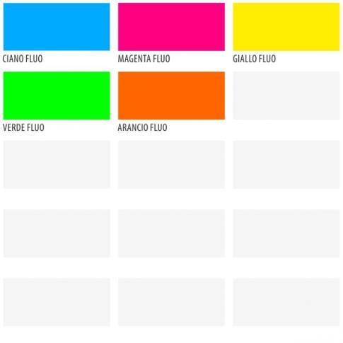 Sezione d 39 aiuto for Colori fluo