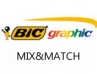 Bic Graphic MIX&MATCH