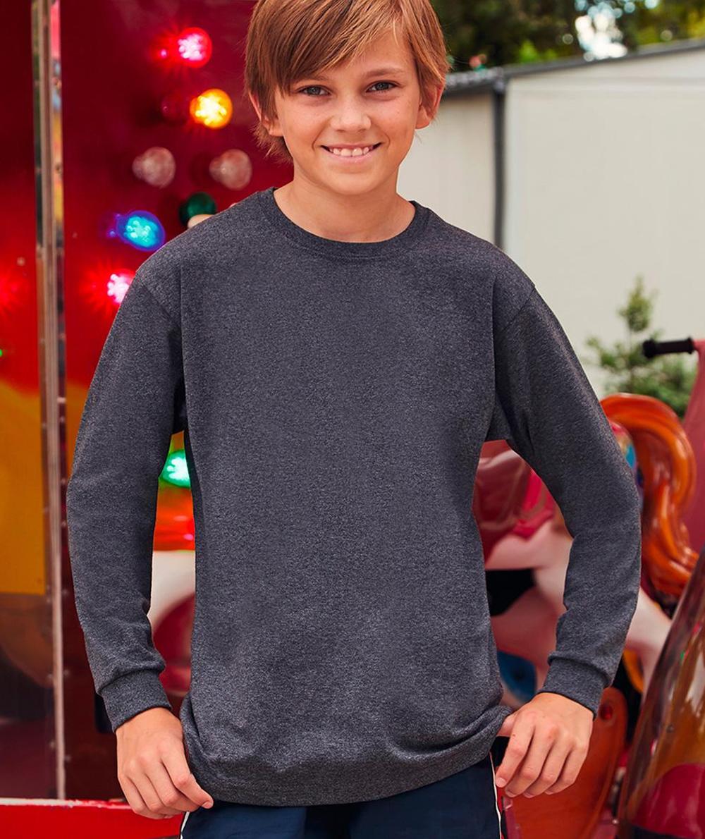 0f1ef79ce118 FR610070-EXP T-shirt Value Weight bambino manica lunga