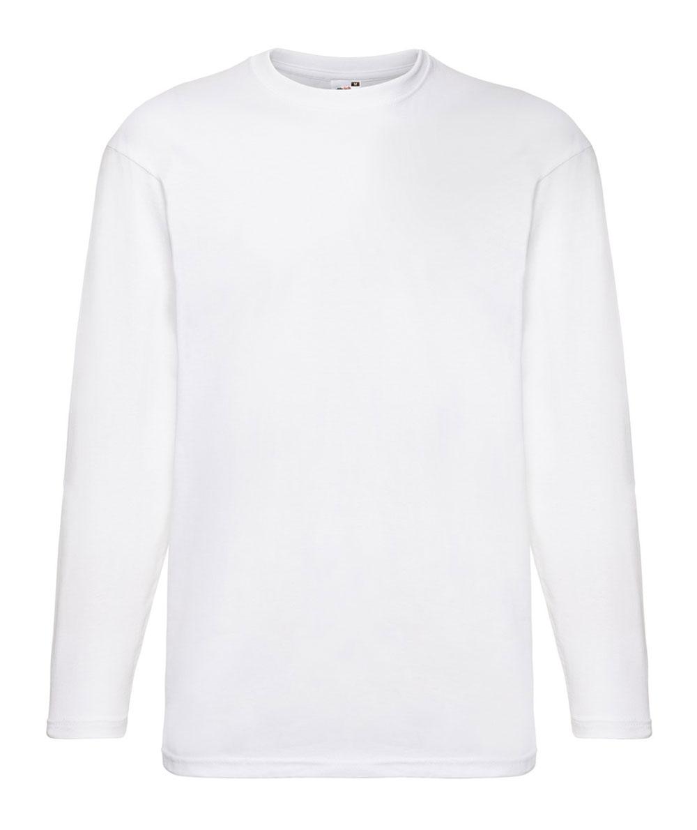 f571c13f7ab1 FR610380_biancoe.jpg; FR610380 T-shirt Valueweight manica lunga; FR610380  ...