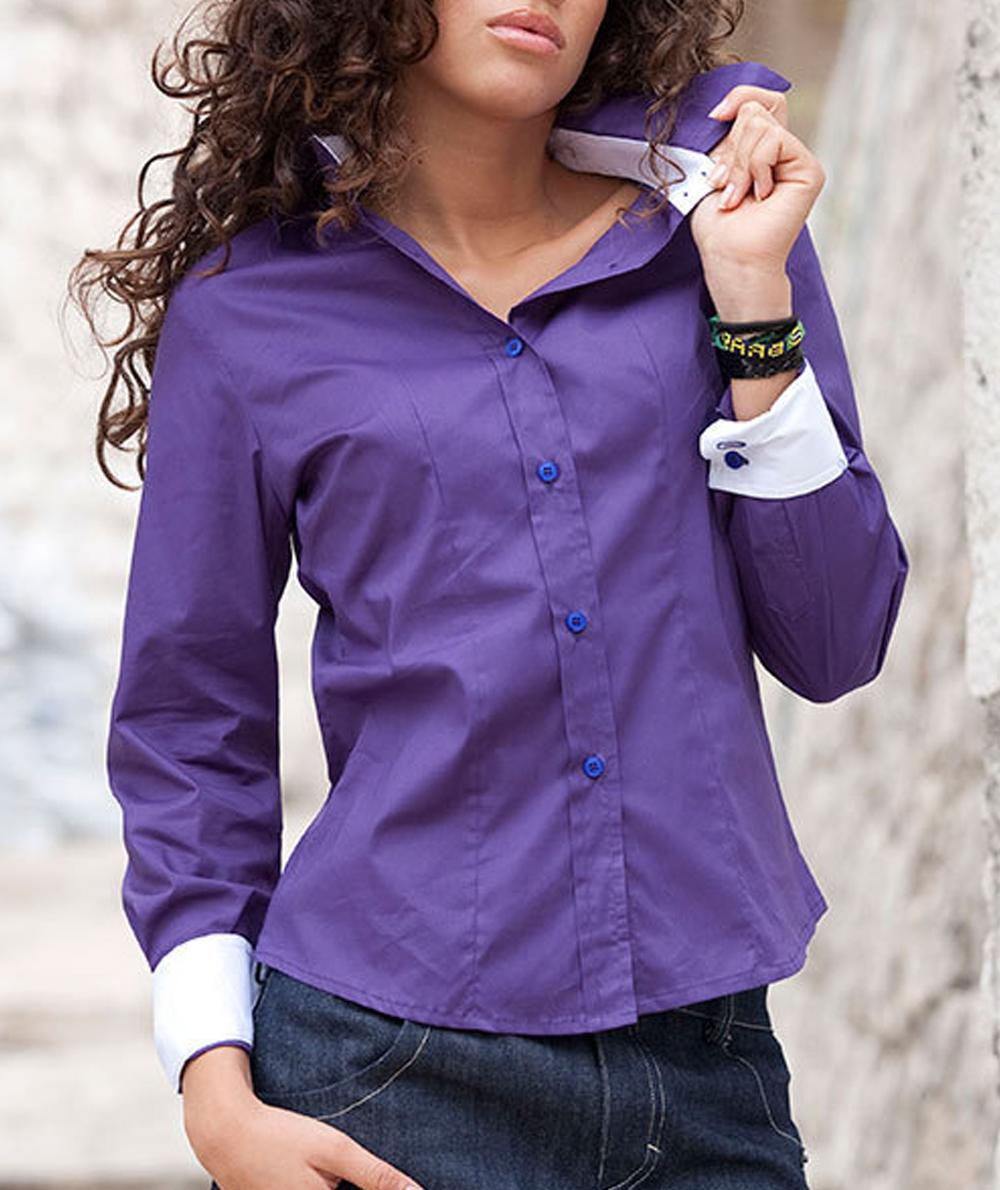 02385fbd2f Camicia bicolore manica lunga donna