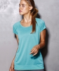 ST8300 T-shirt donna Active Performance Raglan
