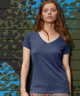 BCTW058 T-shirt donna Favourite V Triblend