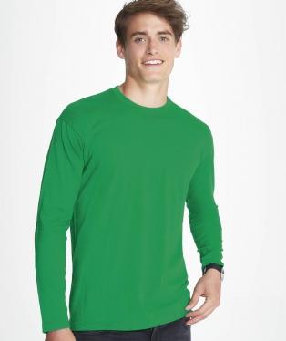 factory authentic df48b 07091 T-shirt uomo manica lunga, stampa magliette personalizzate ...