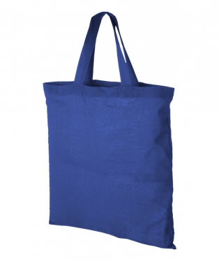 12011000 Shopper in cotone Virginia blu