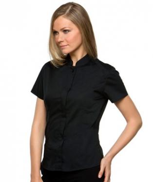 4494ae40dac1e3 Camicia alla coreana manica corta donna