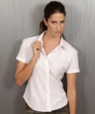 b1dfe4353f77 Moda donna - Stampa camicie da donna a manica corta personalizzate