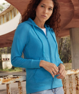 the latest e0162 679aa Felpe con cappuccio e zip da donna - Stampa felpe ...