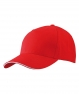 MB6526 Sandwich Cap a 5 pannelli  red