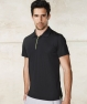 KPA485 Polo uomo manica corta Golf black-lime